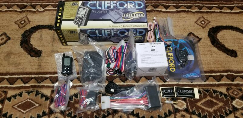Clifford matrix rsx 3.5 new in box w/ extra remote