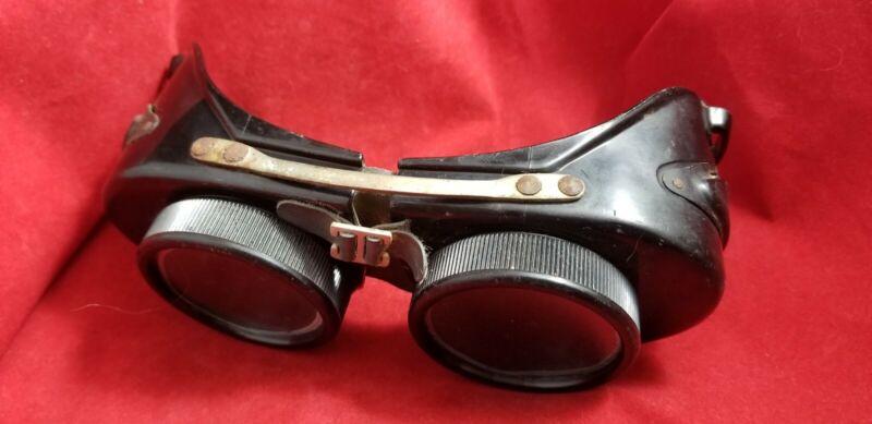 Vintage PI Eyegard Welding Goggles Steampunk 52