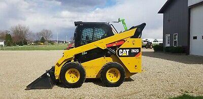 2015 Caterpillar 262d Skid Steer Loader Wheel Loaded 2 Speed Ac Low Hour Kubota