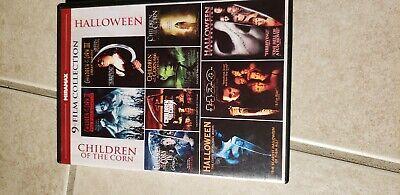 9-Film Children of the Corn/Halloween Collection (DVD, 2012, 3-Disc Set) - Halloween Children's Films