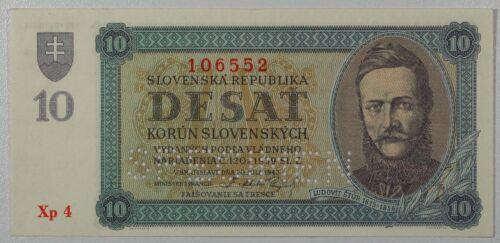 SLOVAKIA   10 KORUN   1939   SPECIMEN   P-6S...   UNC