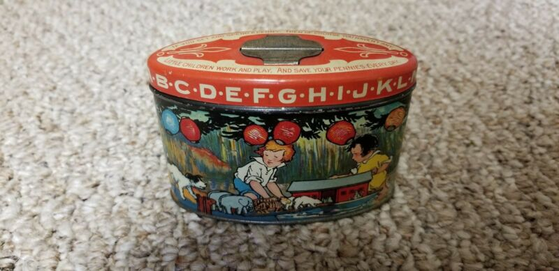 RARE CANDY TIN BANK