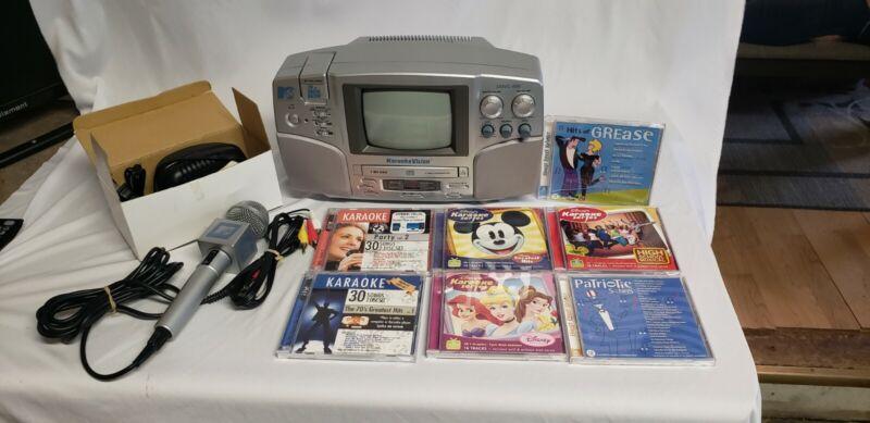MTV Singing Machine karaoke machine Model # SMVG 600 with Microphone
