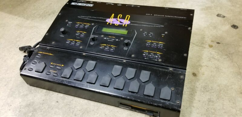 Ensoniq ASR X Drum Sampler / Sequencer / Synthesizer - 16mb - Read description