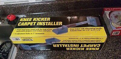 Knee Kicker Carpet Installer With Telescoping Handle Model 47337