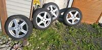 4 X 175/60 R15 81T Pirelli Winterreifen Alufelgen Nissan Renault Hessen - Limburg Vorschau