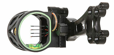 2017 Trophy Ridge Joker 4 Pin Bow Sight Rh Or Lh Black Model  As108 W Light