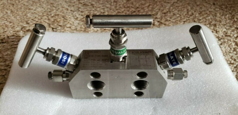 Rosemount, Integral Manifold Valve, P/N: C30512-1124-0000 New (No Box)