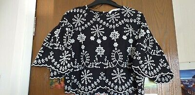 ZARA ladies Top/Blouse - Size 10, used for sale  Shipping to Ireland
