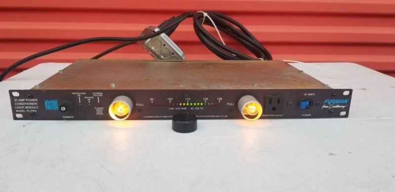 Furman PL-PRO 20-AMP Power Conditioner / Light Module