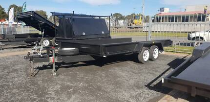 "16x6'6 |TANDEM|BOX CAR CARRIER|10"" SIDES
