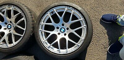 "Alloy Wheels 2 x 19"" CADES BMW 5 Series E60 8.5J"