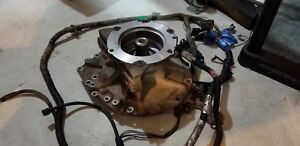 Duramax Allison 1000 tail housing and output shaft.
