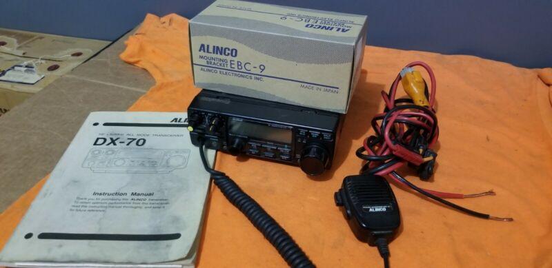 ALINCO DX 70 HF +50MHZ RADIO TRANSCEIVER