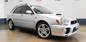 2002 Subaru Impreza Hatchback WRX AUTOMATIC North St Marys Penrith Area Preview