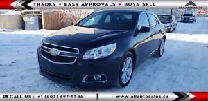2013 Chevrolet Malibu LT $100 DOWN EVERYONE APPROVED OR $75 BW*