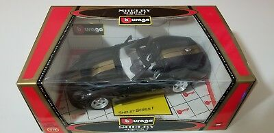 Burago 1:18 SHELBY SERIES 1 Special Gold Edition 33023 BLACK FRIDAY SALE