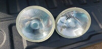2 vintage car head lights Chevy c10 pick up truck corvette Plymouth mercury gm