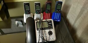 VTECH Base Phone with 4 Console Phones