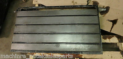 38 X 22 X 4 Steel Weld T-slotted Table Cast Iron Layout Plate Jig Weld 4 Slot