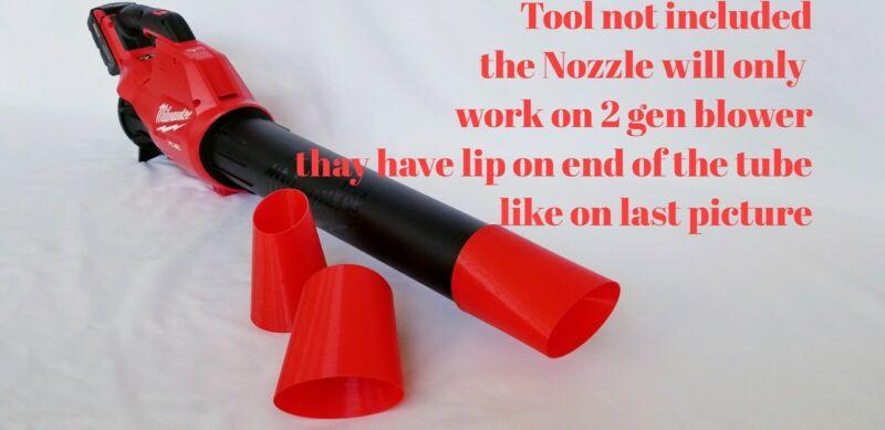 Milwaukee 2724-20 M18 Blower, 2cond Gen   Flat Tip, Nozzle