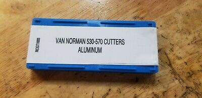 Replacenent Inserts 4 Cutting Alum For Van Norman 570 Rotary Broach 1 Pack Of 10