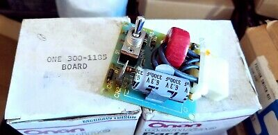 LOAD SPEED CONTROL IDLEMATIC ONAN GENERATOR  GOVERNOR Circuit board  300-1185 Generator Circuit Board