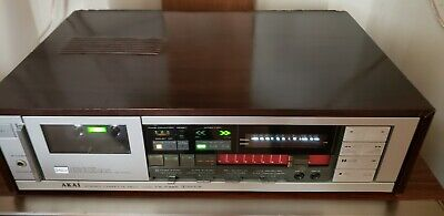 Vintage Akai CS-F39R Stereo Cassette Deck - TESTED, every function works!