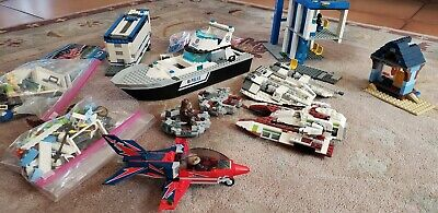 Lego Starwars Star Wars Police More Lot Legos Parts Figures Not Complete Vintage
