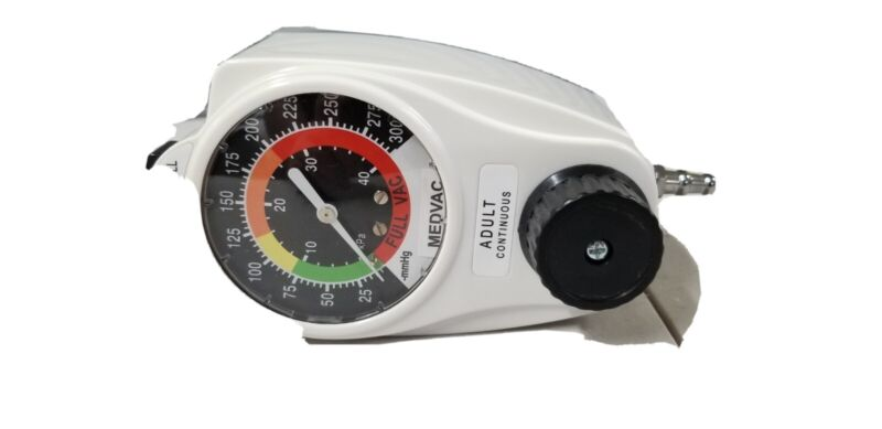 Gentec Vacuum Regulator Model 881VR-300-OH-D w/ Wall Connection Cont/Int Suction