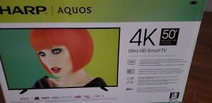 Television Tv 4K 50 Pouces 50 Inches New in box