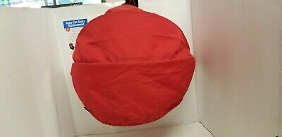 Maxi Cosi Red Fabric Infant Canopy Hood Sunshade Replacement Visor.