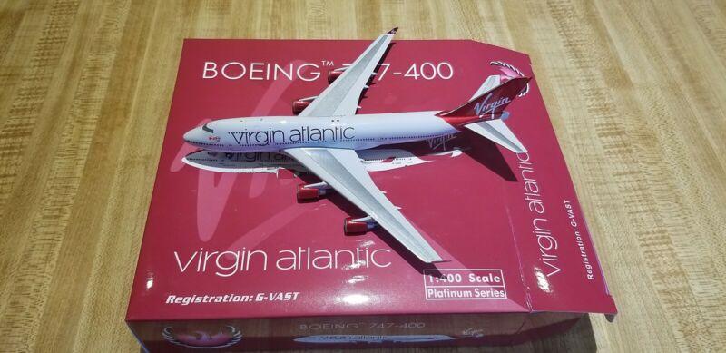 Phoenix Models Virgin Atlantic B 747-41R 1:400 PH4VIRXXX 2010s Colors G-VAST