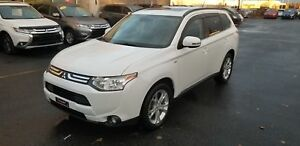 2014 Mitsubishi Outlander GT V6 AWD 7 PASSAGERS CUIR+TOIT+MAGS+C