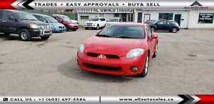 2006 Mitsubishi Eclipse GT EVERYONE APPROVED $255 MONTHLY*