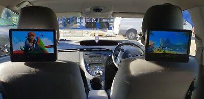 "9"" Twin Screen Portable DVD Player Car Headrest DVD Player Dual Screen In Car"