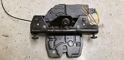 2000-2006 BMW E53 X5 4.4i 3.0i 4.6 Rear Trunk Lock 51248408492 Latch Hatch Door