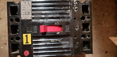 Ge Thed136100 Circuit Breaker 100 Amp 3 Pole 480 Vac Max