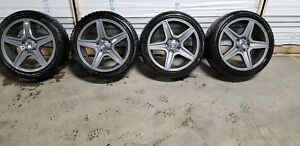 Mercedes Benz Mags and winter tires