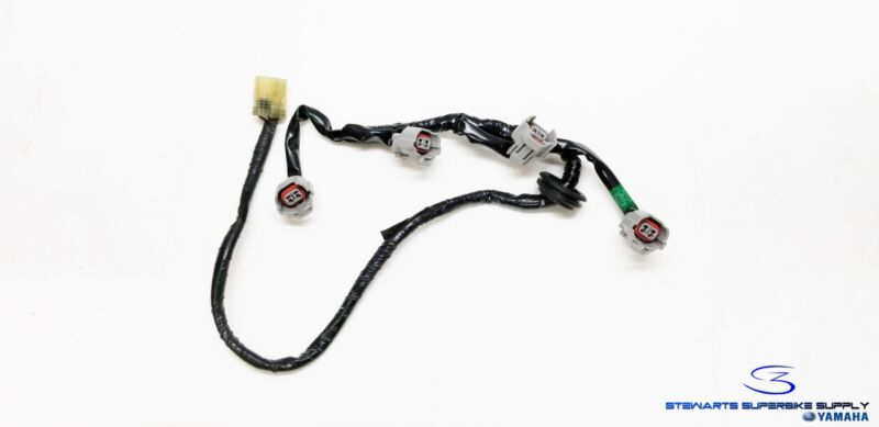 06 07 YAMAHA YZF R6 R6R UPPER AIRBOX INJECTOR WIRING HARNESS WIRE LOOM R Wire Harness on