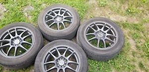R16 Alloy rims with summer tires