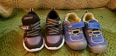 Lot Of 2 Children Shoes Size 8/9 Sketchers
