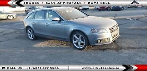 2010 Audi A4 2.0T Premium Wagon EASY FINANCING $499 MONTHLY*