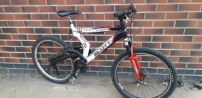 Scott G zero full suspension mountain bike aluminium frame