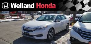 2016 Honda Accord LX | ONE OWNER | NO ACCIDENTS
