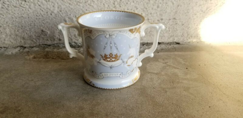 Royal Collection Trust Bone China Loving Cup Prince George Mug Cup