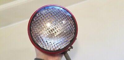 One Nos Vintage Guide Tractor Lens Light Tear Drop Farmall A B C H M Av Super