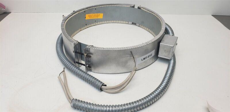 """Chromalox 142-307127-018 Ceramic Band Heater 400W 480v Each 196KM 16"""" ID 4"""" W"""