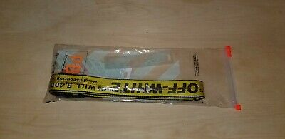 OFF-WHITE Yellow Industrial Authentic Designer Belt