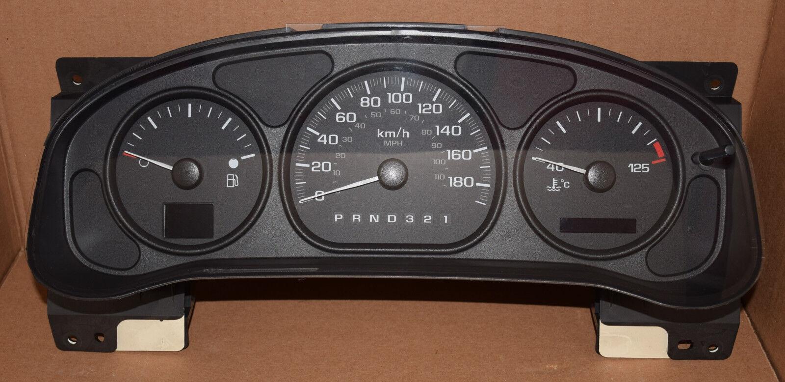 2003-2006 Chevrolet Venture Dashboard Instrument Cluster Repair
